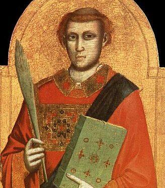San Lorenzo il santo delle lacrime